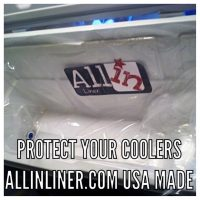 Keep your cooler fish smell free with easy to use All-In Liners